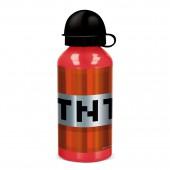Бутылка алюминиевая (400 мл). Майнкрафт