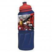 Бутылка пластиковая (спортивная 530 мл). Мстители Раскат грома