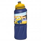 Бутылка пластиковая (спортивная 530 мл). Миньоны 2
