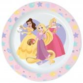 Тарелка пластиковая (для СВЧ). Принцессы Дисней. Правда