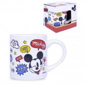 """Кружка в подарочной упаковке 220 мл """"Mickey Mouse"""" (Микки Маус) Дизайн 6, фарфор"""