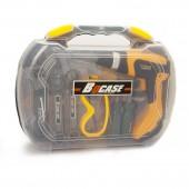 """Ящик с инструментами, """"Дрель"""", для детей, (26 предметов, батарейки не входят в комплект)"""