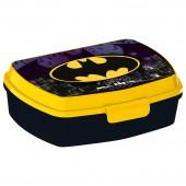 Ланч-бокс пластиковый (17х14х5,6). Бэтмен Символ