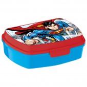 Ланч-бокс пластиковый (17х14х5,6). Супермен