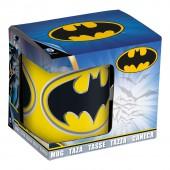 Кружка керамическая в подарочной упаковке (325 мл). Бэтмен Лого