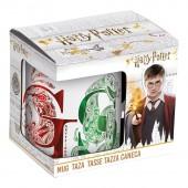 Кружка керамическая в подарочной упаковке (325 мл). Гарри Поттер Замки