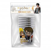 Harry Potter. Набор бумажных стаканов, 6 шт*205 мл (чиби)