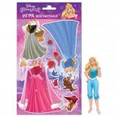 """Магнитная игра """"Принцесса Disney"""" Аврора с маркировкой Disney"""