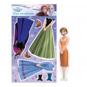 """Магнитная игра """"Холодное сердце"""" с маркировкой Disney (дизайн №2)"""