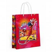 Леди Баг и Супер-Кот. Пакет подарочный большой (розовый), 335*406*155 мм (гайд 2020)