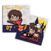 Harry Potter. Салфетки бумажные трехслойные 33*33 см, 20 шт (чиби)