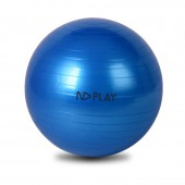 Фитбол, диаметр:75см., цвет синий