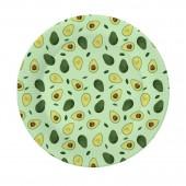 Набор бумажных тарелок Авокадо-2, 6 шт d=180 мм