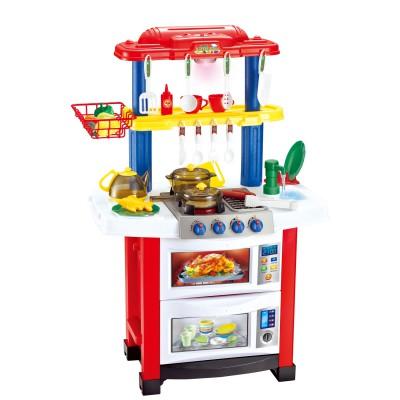 Набор Кухня, XXL, ND, Girl, Boy, Prof, Большая кухня с краном с водой