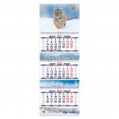 Календарь квартальный «Символ года 1. Маркет» на 2022 год