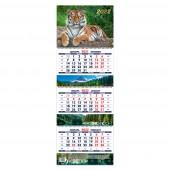 Календарь квартальный «Символ года 2. Маркет» на 2022 год