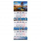 Календарь квартальный «Город зовет. Маркет» на 2022 год
