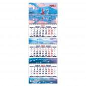 Календарь квартальный «На краю земли. Маркет» на 2022 год