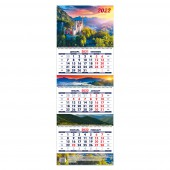 Календарь квартальный «Замок мечты. Маркет» на 2022 год