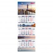 Календарь квартальный «Утро свободы. Маркет» на 2022 год