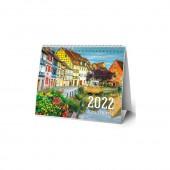Календарь-домик (евро) «Город мечты. Маркет» на 2022 год