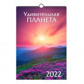 Календарь на спирали «Удивительная планета. Маркет» на 2022 год
