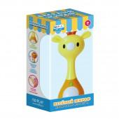 """Набор музыкальная игрушка-погремушка """"Веселый жираф"""""""