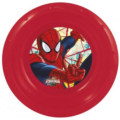 Миска пластиковая. Человек-паук Красная паутина