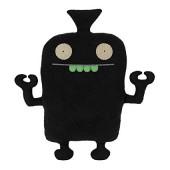 Игрушка мягкая малая (Uglybot, черный, 17,5 см). Uglydoll