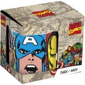 Кружка керамическая в подарочной упаковке (№4, 325 мл). Мстители