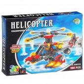 """Конструктор """"Блок 3D"""" Вертолет (SD JH6913)"""
