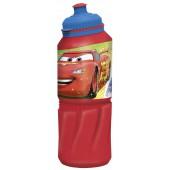 Бутылка пластиковая (спортивная 530 мл). Тачки Грани гонок