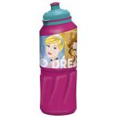 Бутылка пластиковая (спортивная 530 мл). Принцессы Дружные приключения