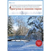Интерактивные занятия в ДОУ. Прогулка в зимнем парке (DVD-Box)