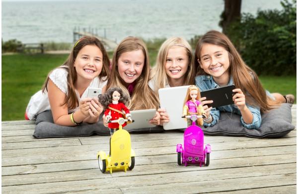 SmartGurlz: Куклы на сигвеях для обучения программированию