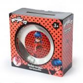 """Набор """"Леди Баг и Супер Кот"""" Дизайн 1, (3 предмета, подарочная упаковка), стекло"""