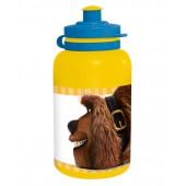 Бутылка пластиковая (спортивная, 400 мл). Тайная жизнь домашних животных