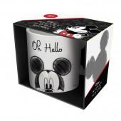 Кружка в подарочной упаковке «Микки», Привет!, 330 мл, фарфор