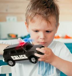 Детский конструктор «Полицейский патруль»