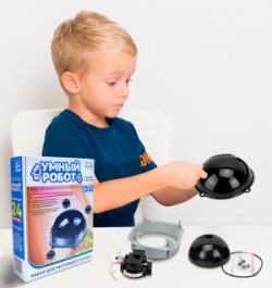 Развивающий конструктор для детей «Умный робот»