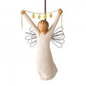 Фигурка Willow Tree (Ангел Нового года 2015, на веревочке)