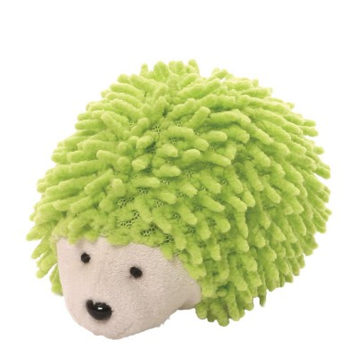 Игрушка мягкая (Ganley The Hedgehog Screen Cleaner, Ежик, салатовый , 6,5 см). Gund
