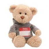 Игрушка мягкая (Hello My Name Is Bear, 30,5см). Gund