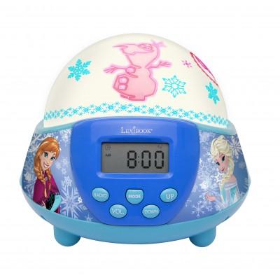 Будильник-проектор с радио. Холодное Сердце Дисней
