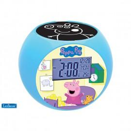 Часы-проектор Свинка Пеппа