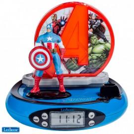 Часы-будильник-проектор Мстители