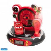 Часы-будильник-проектор Тачки