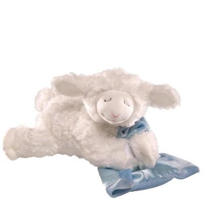 Игрушка мягкая (Prayer Winky Lamb Blue, 15 см). Gund