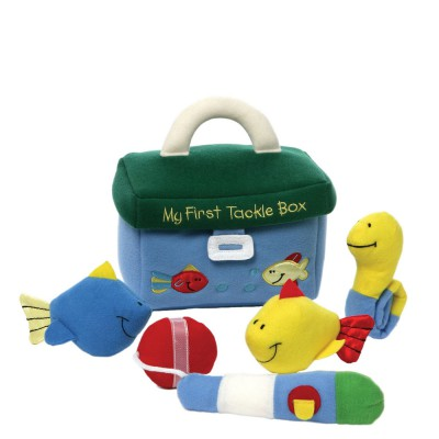 Игрушка мягкая (My First Tackle Box Play Set, 19 см). Gund