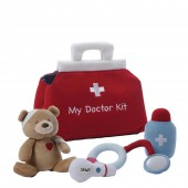 Игрушка мягкая (My First Doctors Kit Play Set, 20,5 см). Gund